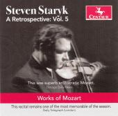 Album artwork for Mozart: Retrospective vol. 5 - Steven Staryk
