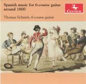 Album artwork for SPANISH MUSIC FOR 6-COURSE GUI
