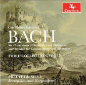 Album artwork for CPE Bach: Third Collection, Wq. 57
