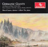 Album artwork for Germanic Giants - Clarinet Works