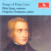 Album artwork for Songs of Franz Liszt