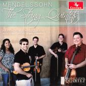 Album artwork for Mendelssohn: The String Quintets
