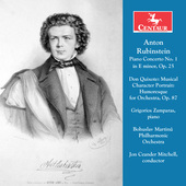 Album artwork for Rubinstein: Piano Concerto No. 1 in E Minor, Op. 2