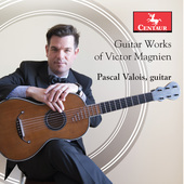 Album artwork for Guitar works of Victor Magnien