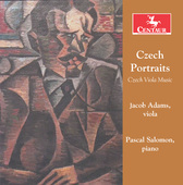 Album artwork for CZECH PORTRAITS for Viola / Salomon