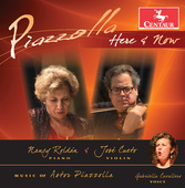 Album artwork for Piazzolla Here & Now