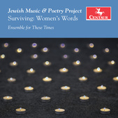 Album artwork for Garner: Jewish Music & Poetry Project - Surviving: