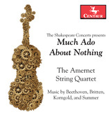 Album artwork for Much Ado About Nothing / Amernet Quartet