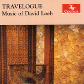 Album artwork for Travelogue: Music of David Loeb