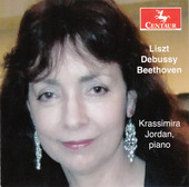 Album artwork for Liszt, Debussy & Beethoven: Piano Works