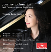 Album artwork for Journey to America: 20th Century American Piano Mu
