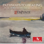 Album artwork for Pathways to Healing: Music of Beethoven & Mendelss