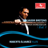 Album artwork for Brotons: The Complete Works for Flute, Vol. 1