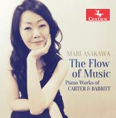 Album artwork for The Flow of Music: Piano Works of Carter & Babbitt