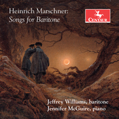 Album artwork for Heinrich Marschner: Songs for Baritone
