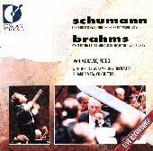 Album artwork for Schumann & Brahms: Piano Concertos (Moravec)