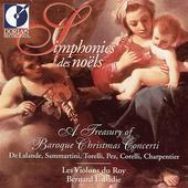 Album artwork for SIMPHONIES DES NOELS: A TREASURY OF BAROQUE CHRIST