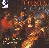Album artwork for BALTIMORE CONSORT - TUNES FROM THE ATTIC