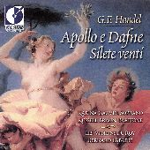 Album artwork for Handel: Apollo e Dafne Silete Venti Labadie Gauvin