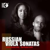 Album artwork for ELIESHA NELSON PLAYS RUSSIAN VIOLA SONATAS