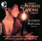 Album artwork for RECITAL OF INTIMATE WORKS, VOL. 2
