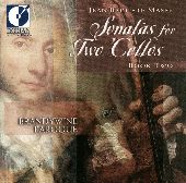 Album artwork for SONATAS FOR TWO CELLOS, BOOK TWO