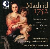 Album artwork for SACRED MUSIC FROM THE ROYAL CHAPEL OF SPAIN