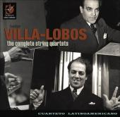 Album artwork for VILLA-LOBOS: Complete String Quartets