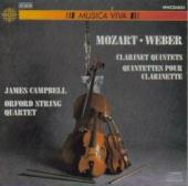 Album artwork for Mozart . Weber: CLARINET QUINTETS
