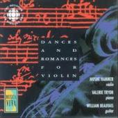Album artwork for Dances and Romances for Violin / Hammer