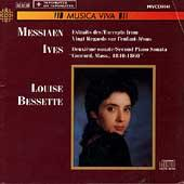 Album artwork for Louise Bessette plays Messiaen & Ives