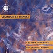 Album artwork for Chanson et Danses / Les Vents de Montreal