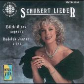 Album artwork for Schubert: Lieder / Wiens, Jansen