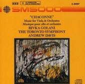 Album artwork for Chaconne - Music for Viola & orchestra / Golani