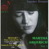 Album artwork for Martha Argerich Vol. 1 - Mozart Piano Sonatas