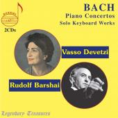 Album artwork for Bach: Piano Concertos & Solo Keyboard Works