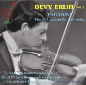 Album artwork for Devy Erlih, Vol. 2: Paganini Caprices