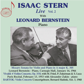 Album artwork for Isaac Stern Live, Vol. 2