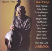 Album artwork for DAVE YOUNG: PIANO/BASS DUETS VOL. 3