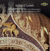 Album artwork for Richard Lester: Masterworks and miniatures