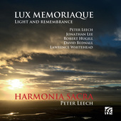 Album artwork for Lux Memoriaque - Light and Remembrance