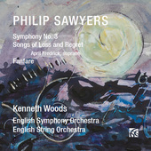 Album artwork for Sawyers: Symphony No. 3 - Songs of Loss and Regret