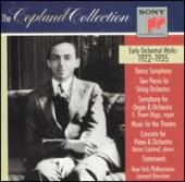 Album artwork for The Copland Collection Early Orchestral Works 1922