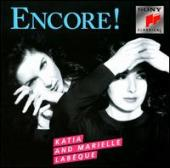 Album artwork for Katia and Marielle Labeque ENCORE!