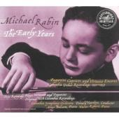 Album artwork for MICHAEL RABIN - THE EARLY YEARS