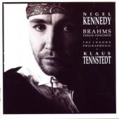 Album artwork for Brahms: Violin Concerto / Kennedy, Tennstedt