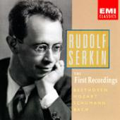 Album artwork for RUDOLF SERKIN: THE FIRST RECORDINGS