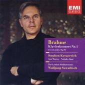 Album artwork for Brahms: Piano Concerto #1 / Kovacevich