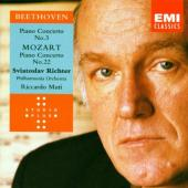 Album artwork for Richter Plays Betehoven and Mozart Concertos