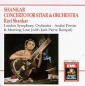 Album artwork for Shankar: Concerto for Sitar &  Orchestra